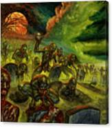 Rotten Souls Taint The Land Canvas Print