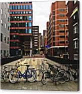 Rotterdam Architecture Canvas Print