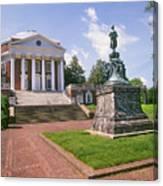 Rotunda, University Of Virginia Canvas Print