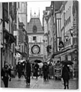 Rouen Street Canvas Print