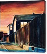 Rouge Alley Canvas Print