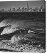 Rough Water Canvas Print