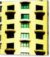 Round Balconies Canvas Print