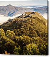 Round Mountain Lookout Canvas Print