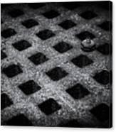 Round Peg Square Hole Canvas Print