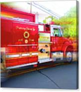 Round Top Vol. Fire Co. Inc. New York 7 Canvas Print