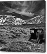 Round Valley Relic Revisited Canvas Print