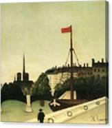 Rousseau 41 Henri Rousseau Canvas Print