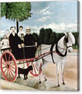 Rousseau: Cart, 1908 Canvas Print