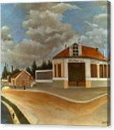 Rousseau: Factory, C1897 Canvas Print