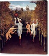 Rousseau: Football, 1908 Canvas Print