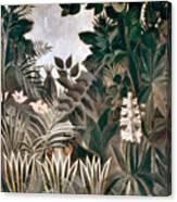 Rousseau: Jungle, 1909 Canvas Print