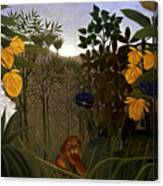 Rousseau: Lion Canvas Print