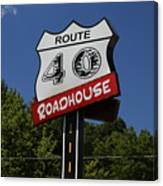 Route 40 Roadhouse Canvas Print