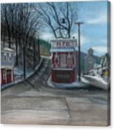 Route 6 Meshoppen Pa Canvas Print