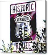 Route 66 2 Canvas Print