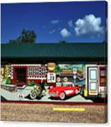 Route 66 Mural Canvas Print