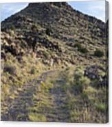 Route 66 On The La Bajada Grade Canvas Print