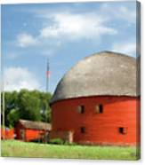 Route 66 Round Barn Canvas Print
