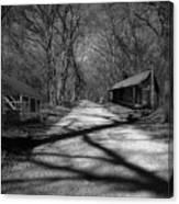Route De La Louisiane Canvas Print