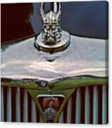 Rover Radiator And Hood Ornament Canvas Print