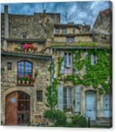 Row Houses Arles France_dsc5719_16_dsc5719_16 Canvas Print