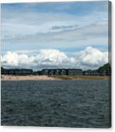 Row Of Clouds Canvas Print
