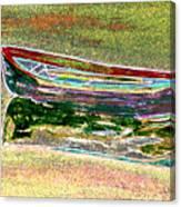 Rowboat Fluorescence 1 Canvas Print
