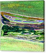 Rowboat Fluorescence 2 Canvas Print