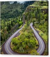 Rowena Crest Loops - Oregon Canvas Print