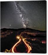 Rowena Milky Way Canvas Print