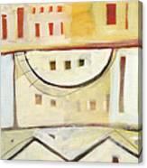 Rowhouse No. 1 Canvas Print