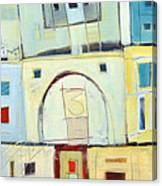 Rowhouse No. 3 Canvas Print