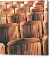 Rows Of Seats Canvas Print