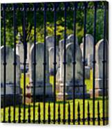 Rows Of Stone And Iron Canvas Print