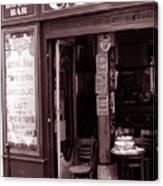 Royal Bar Paris Canvas Print