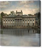 Royal Baths In Warsaw Canvas Print