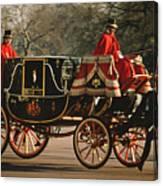Royal Carriage Canvas Print