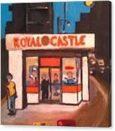 Royal Castle Canvas Print