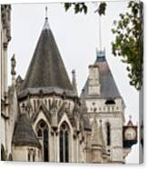 Royal Courts Of Justice Canvas Print