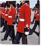 Royal Guards In Ottawa Canvas Print