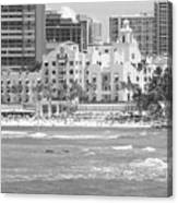 Royal Hawaiian Hotel - Waikiki Canvas Print