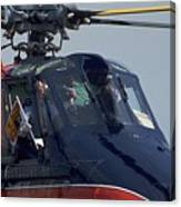 Royal Helicopter Canvas Print