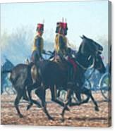 Royal Horse Artillery Painted Canvas Print