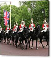 Royal Household Cavalry Canvas Print