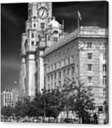 Royal Liver Buildings_beatle Country Canvas Print