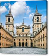Royal Monastery El Escorial Canvas Print