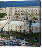 Royal Naval Dockyard Bermuda Canvas Print