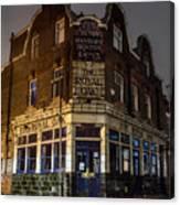 Royal Oak Pub Columbia Road London Canvas Print
