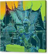 Royal Palace Bangkok Canvas Print